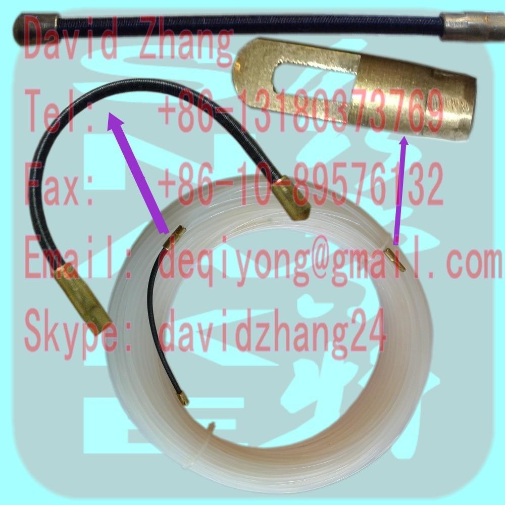 4 mm-es nylon halszalag, kábelhúzó, légcsatorna, kígyórudak, tolórudak, huzalhúzó