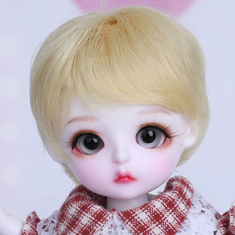 Full Set 1/8 BJD Doll BJD/SD Cute Lovely Lina Baby Miu Resin Joint Doll With Eyes For Baby Girl Birthday Gift Present bjd sd infant fat giant baby doll bambi bambi square baby girl birthday gift