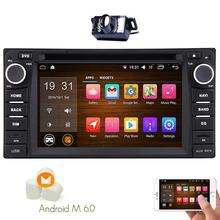 Android6.0 Car Stereo for TOYOTA Corolla two 2 Din Capacitive Screen Car DVD Player GPS Navigation In Dash Headunit FM GPS Radio