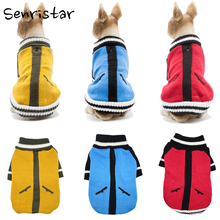 Pet Spring Sweater Dog Clothes For Small Medium Large Dogs Soft Warm Chihuahua Puppy Coats Costume French Bulldog Clothing