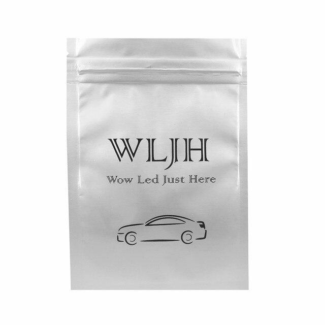 WLJH-éclairage Led bleu glace   Blanc pur 2835SMD, paquet de lumière intérieure de voiture pour Toyota Camry LE SE XLE 2002 2003 2004 2005 2006 6x