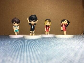 MiniMuñecos de Haikyuu(4 uds) Figuras de Haikyuu Haikyuu