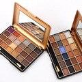 2 unids/lote Sur América Moda 24 Colores 3D Mujeres Maquillaje Kit Paleta de Sombra de ojos Sombra de Ojos Maquillaje Cosmético de la Gama 2017 de Primavera