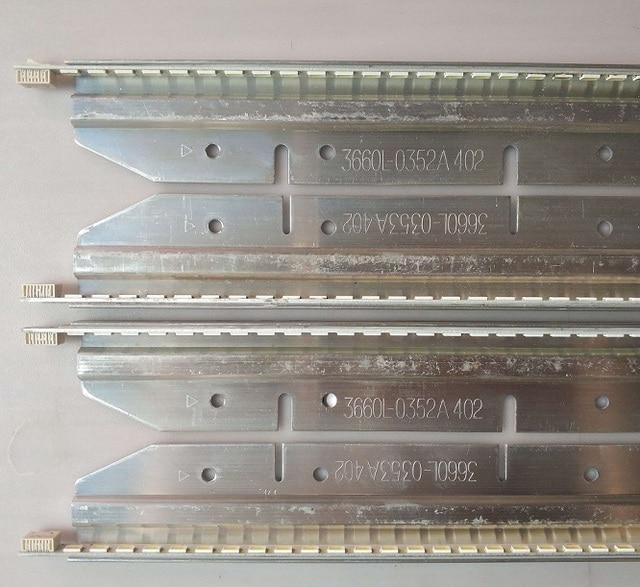 (Nuevo Kit) 4 unids/set 57LED 470mm tira de LED para iluminación trasera para LG 42LE5300 3660L-0353A 3660L-0352A innotek 42 V5 Eege REV 0,3 tipo B