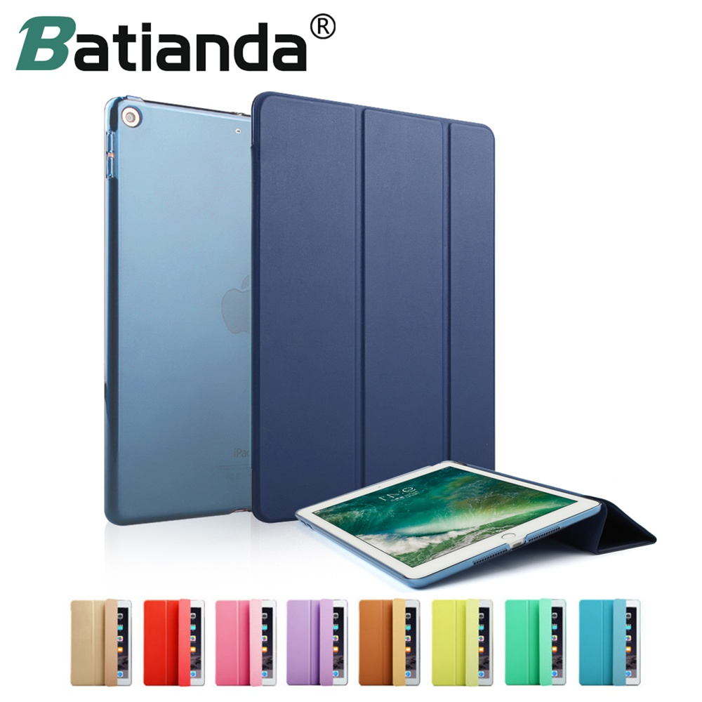 "Per iPad Pro 12.9 ""2016 PU Color Slim Custodia Smart Cover Magnetic Auto Sleep / Wake up per Apple iPad da 12,9 pollici"