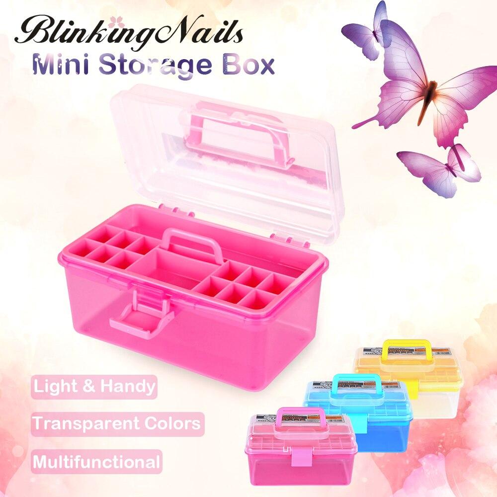 ᑐBlinkingnails plástico Cajas de herramientas para Manicura ...