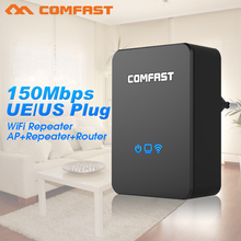 Wireless WiFi Repeater 150Mbps 802.11n/g/b Network Wifi Extender COMFAST AP Router Wi fi Signal Amplifier Repetidor Wifi Booster(China (Mainland))