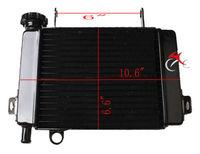Motorcycle Radiator Cooler Cooling For Honda CBR125 CBR 125 2003 2009