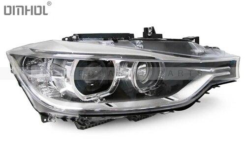 Livraison gratuite pour BMW série 3 F30 F35 HID bi-xénon phare assemblage Refit halogène à Bixenon projecteurs mise à niveau - 2