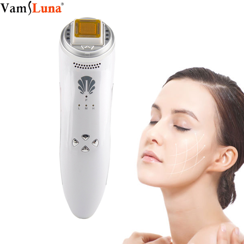 Rechargeable RF Radio Frequency Facial Lifting Tightening Skin Rejuvenation Massager Wrinkle Removal Thermage With LED Red LightRechargeable RF Radio Frequency Facial Lifting Tightening Skin Rejuvenation Massager Wrinkle Removal Thermage With LED Red Light