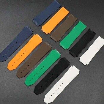 146641386542 Ver accesorios para hombres es HUBLOT correa de silicona damas de goma  impermeable de los deportes de la correa