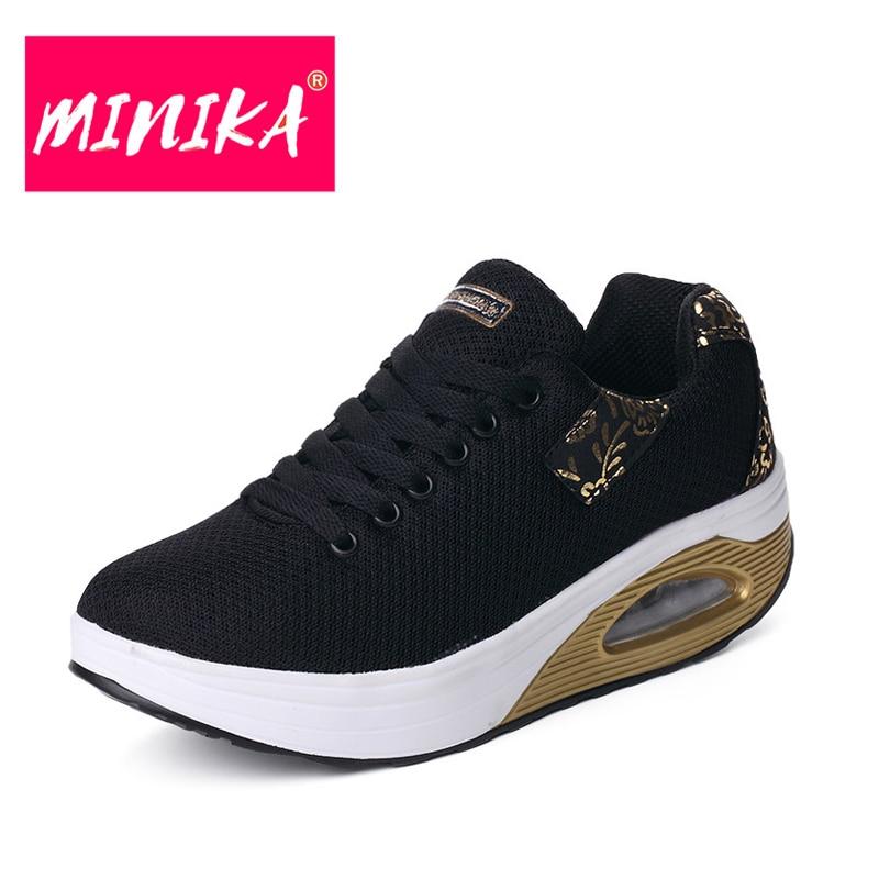 MINIKA New Brand Women Flats Schoenen Fashion Bronzing Women Duurzame - Damesschoenen - Foto 1