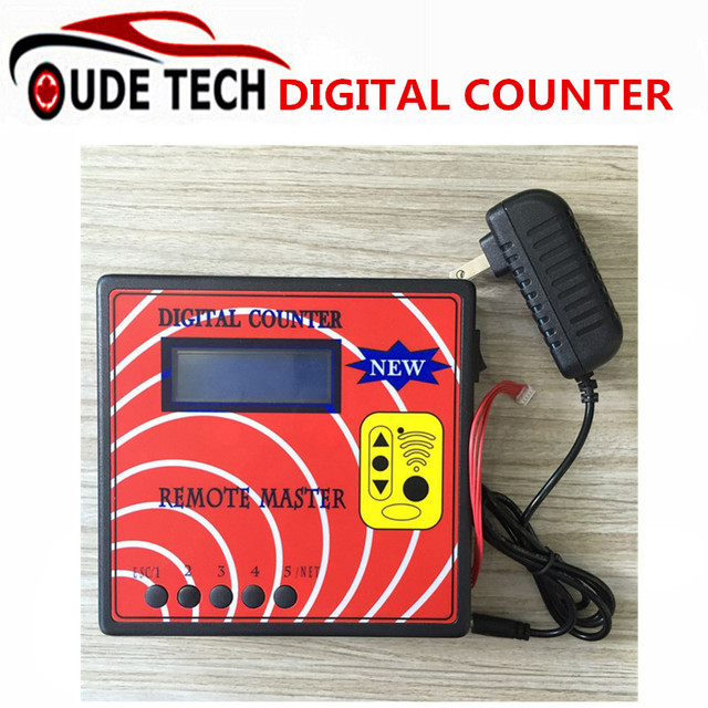 New Digital Counter Remote Master Frequency Display Machine Wireless Remote Copier Regenerate Rf Copy Auto Key Programmer Tool