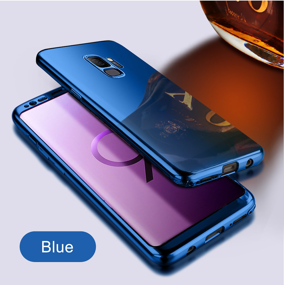 NKOBEE 3 in1 Coque For Samsung Galaxy S9 S8 Plus S7 Edge Note8 Cover Screen Flim For Samsung Galaxy S9 Luxury Case 360 Full Body (8)