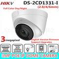 Frete grátis 2017 New Arrival HiK 3.0 MP CMOS Rede Turret Camera DS-2CD1331-I substituir DS-2CD2335-IHD CCTV Câmera IP IP 67