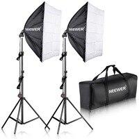 Neewer 700W Photography Softbox with E27 Socket Light Lighting Kit for Photo Studio Portraits,Photography and Video Shooting