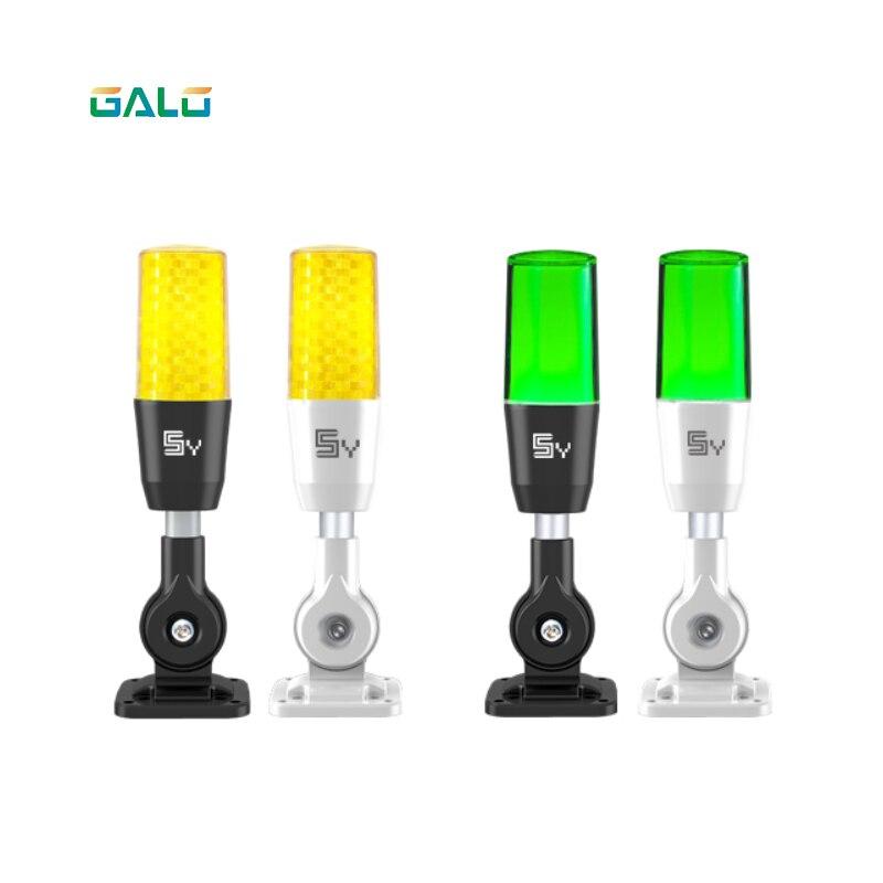 Tricolor Signal Alarm Light Strobe Flashing Emergency Warning Lamp wall mount for Production workshop machine