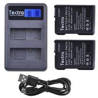 1500mAh 2x EN EL14A EN EL14 ENEL14 Battery+LCD USB Dual Charger for Nikon D3100 D3200 D3300 D3400 D3500 D5600 D5100 D5200 P7000