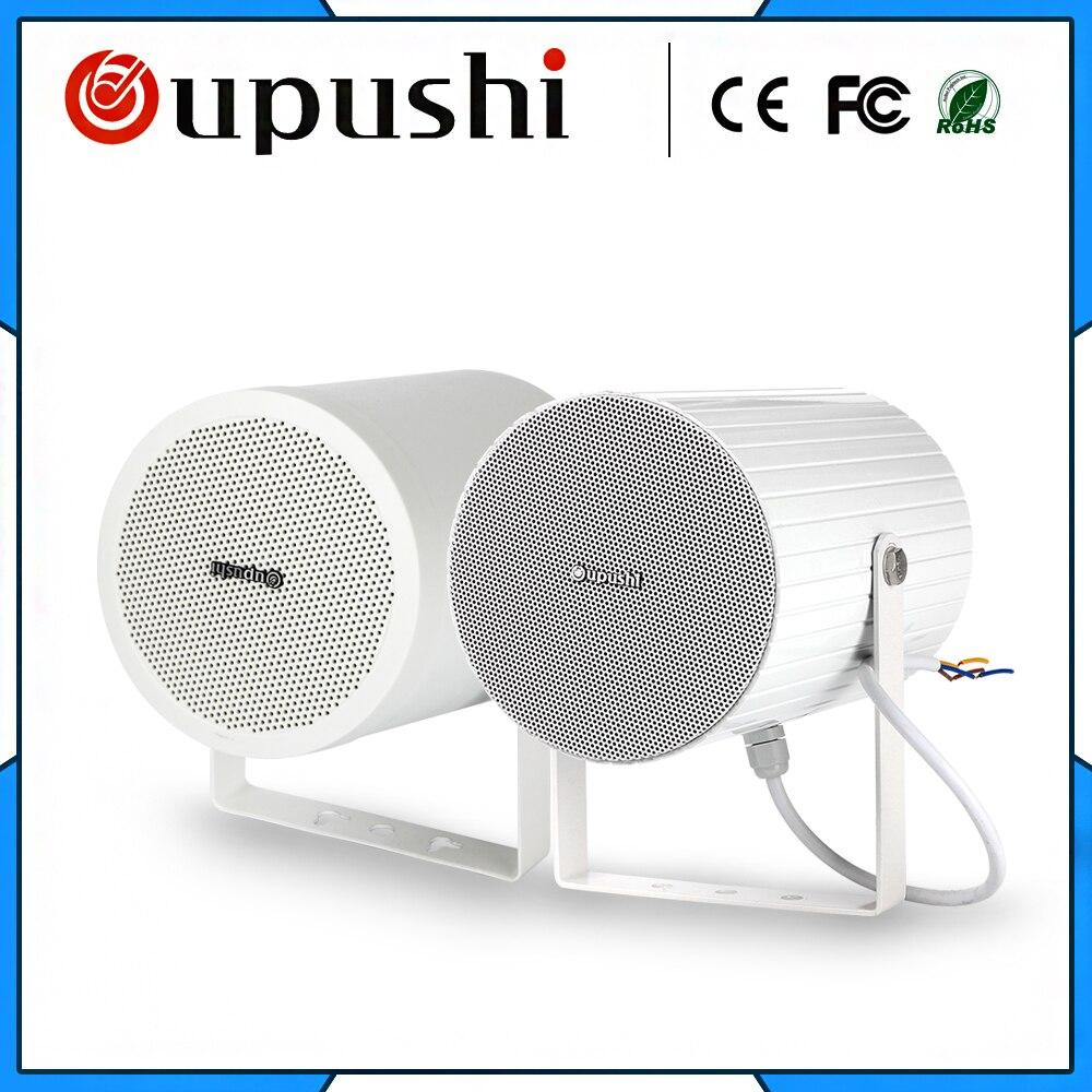 Haut-parleur directionnel utilisant le haut-parleur stéréo fixé au mur de PA haut-parleur bidirectionnel pour l'usage public; café; haut-parleurs de barre