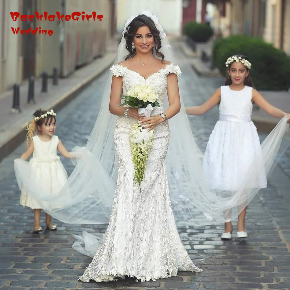 Plus Size Floral Wedding Dress – fashion dresses