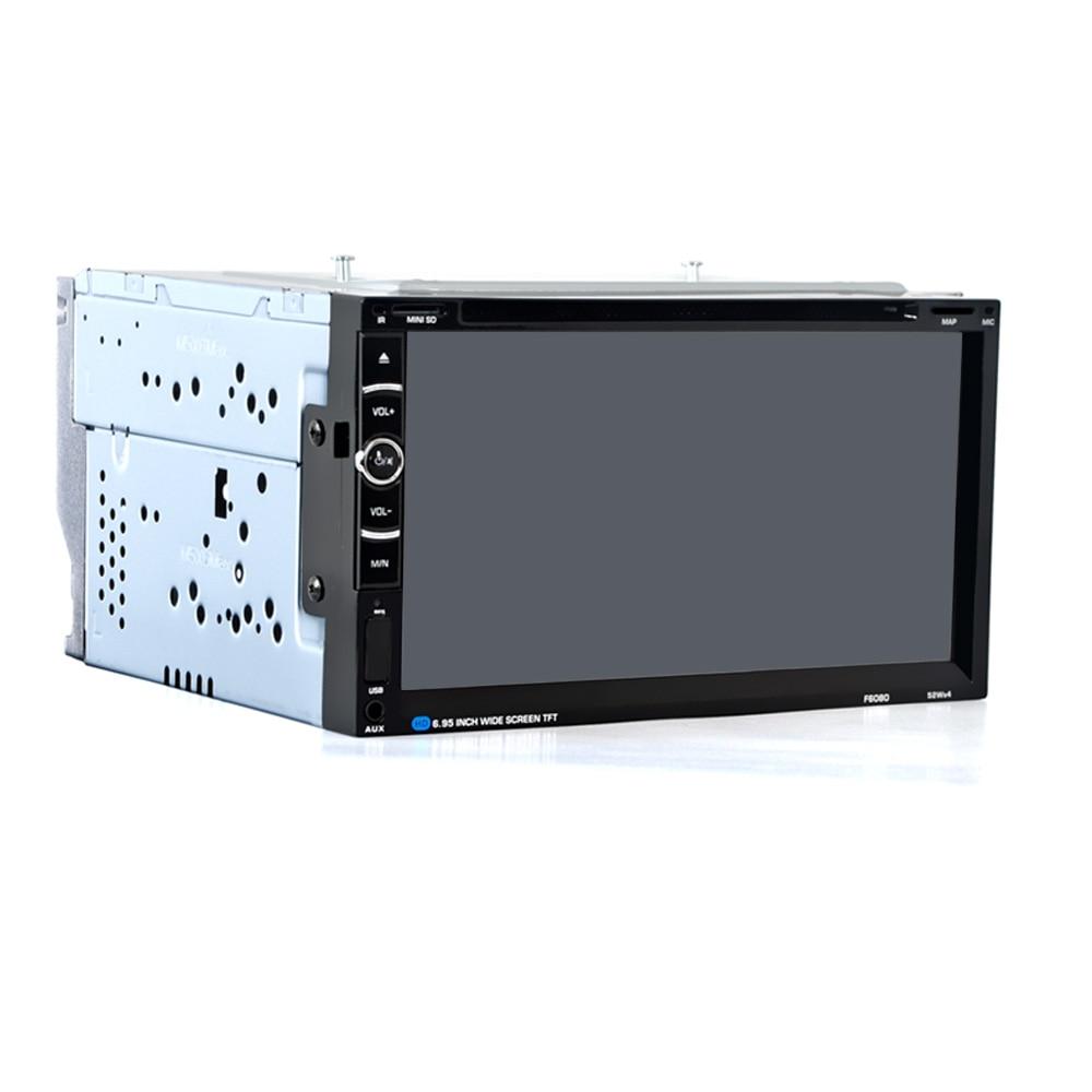 Image 5 - HEVXM/F6080 6,95 дюймовый автомобильный DVD плеер навигации автомобилей радио мультимедиа MP5 MP3 играть gps автомобильный навигатор-in GPS для транспорта from Автомобили и мотоциклы