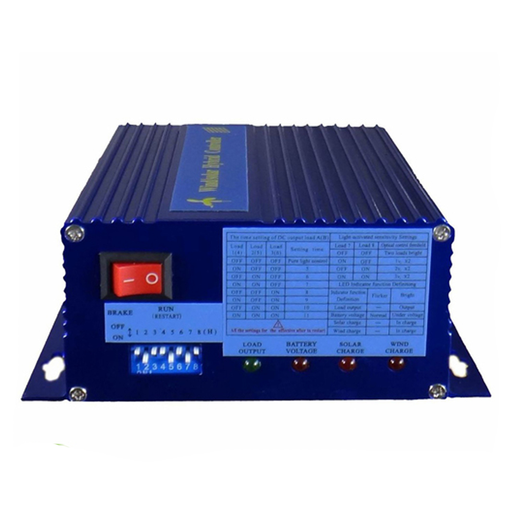 Max 400w Wind Solar Hybrid Street Light System Charge Controller For Turbine Dumpload 100w Generator 150w 12v Panel300w 24v In Controllers From