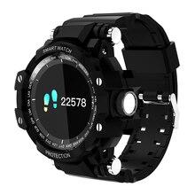 IP67 GW68 Relógio Inteligente À Prova D' Água 200 Dias de Espera Inteligente Smartwatch relógio de Pulso da Frequência Cardíaca Pressão Arterial Homens Esportes Ao Ar Livre 2018