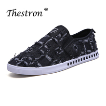 New Cool Casual Boy Shoes Black Men Original Canvas Lace-Up Man Fashion Low Top Youth Walking