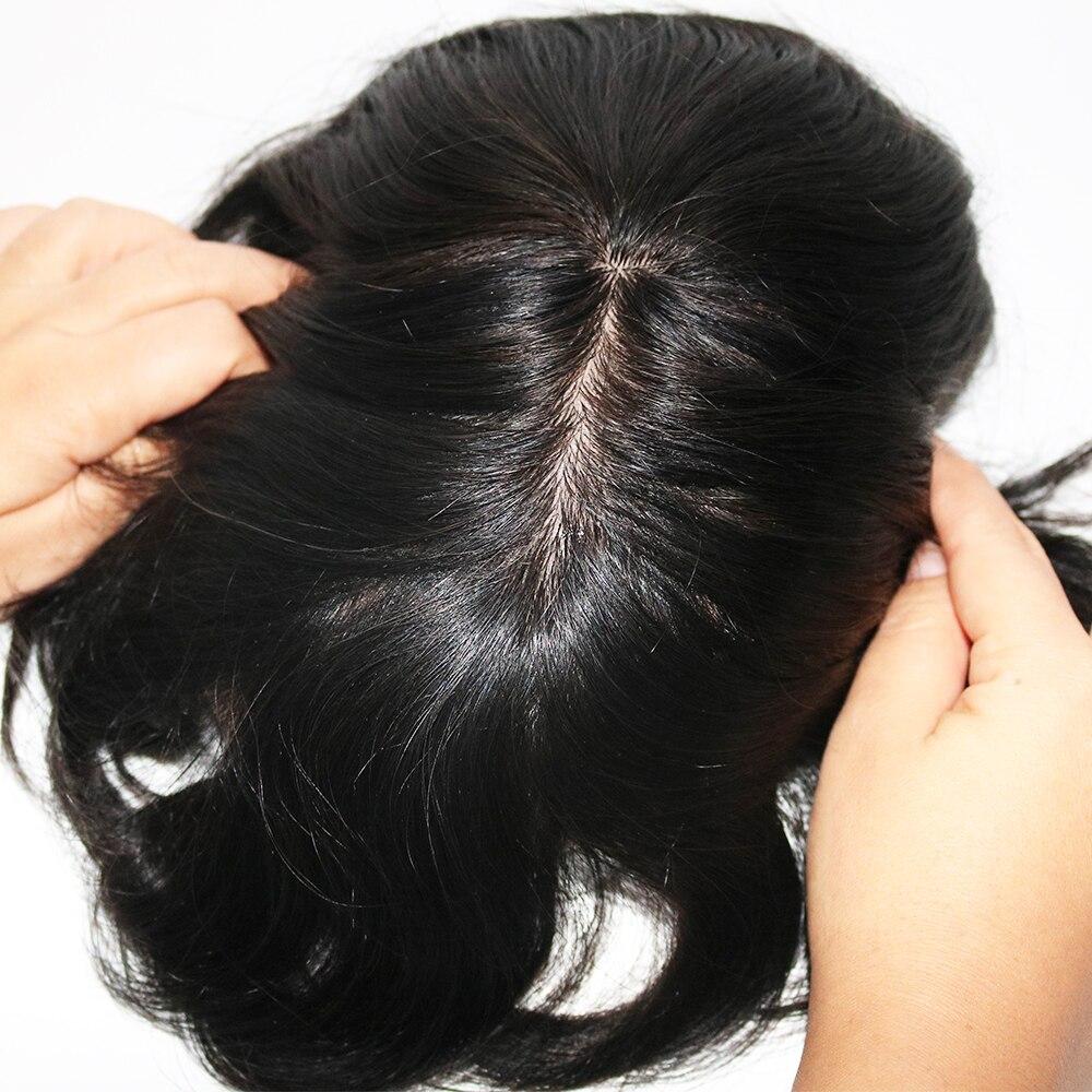 natural toupee hair