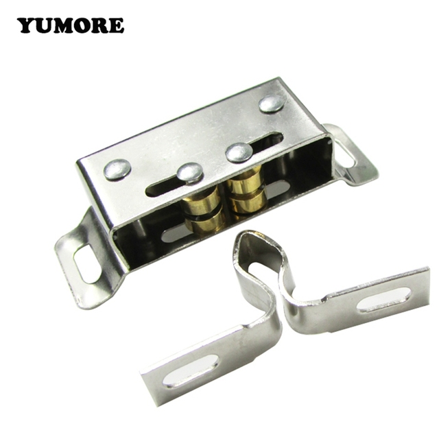 kitchen cabinet catches yumore 4pcs stainless steel cabinet catches push to open 18307