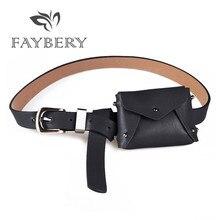 Sexy Korean Style Waist Bag Belts for Women's Belt with A Sm