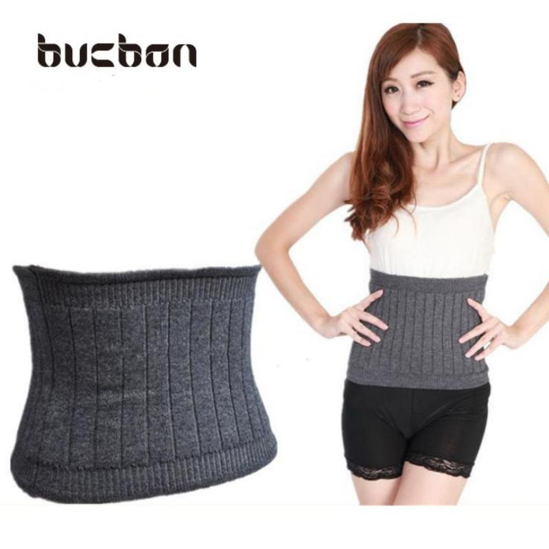 Women Cashmere Fitness Waist Belt Warmer Wool Waist Support Belt Unisex Elastic Protector Lumbar Support For Waist HBK036