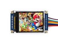 Piezas Módulo de pantalla LCD de 1.8 pulgadas, 128x160 píxeles, interfaz de SPI, retroiluminación LED, con controlador embebido, pantalla color: RGB, 65 k col