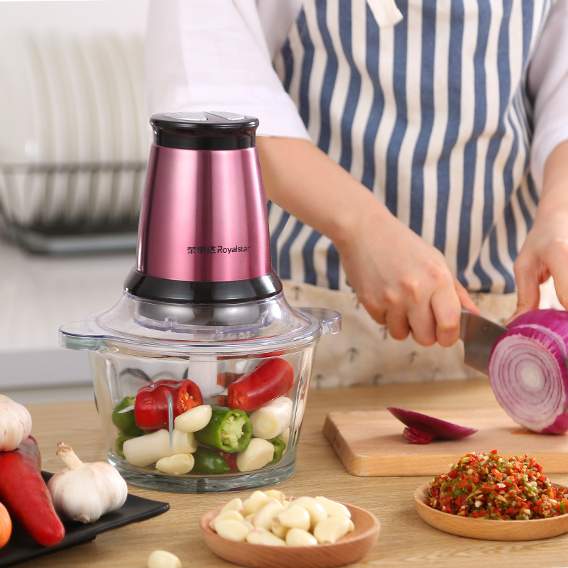220V Multi-function meat vegetables Sauces grinder Mixer Cooking machine Capacity 1.8L 200W цена