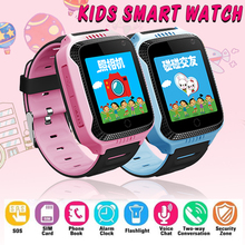 купить B3 GPS SmartWatch With Camera Flashlight Baby Watch phone SOS Call GPS Device Tracker for Kid Safe Smart Watch PK Q100 Q90 Q50 по цене 844.75 рублей