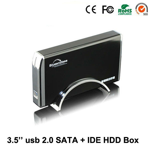 ФОТО 2017 New Arrival Aluminum Stock Hd Externo Usb External Enclosure 3.5 2.0 To 2tb Inch Hdd Case Combo Docking Station Box