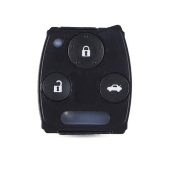 Chiave Telecomando per Honda Accord Sedan Pilot Car Key Shell Rubber Pad Kit Remote Key Pad 2/3 Tasti Car Case Cover Fob 1
