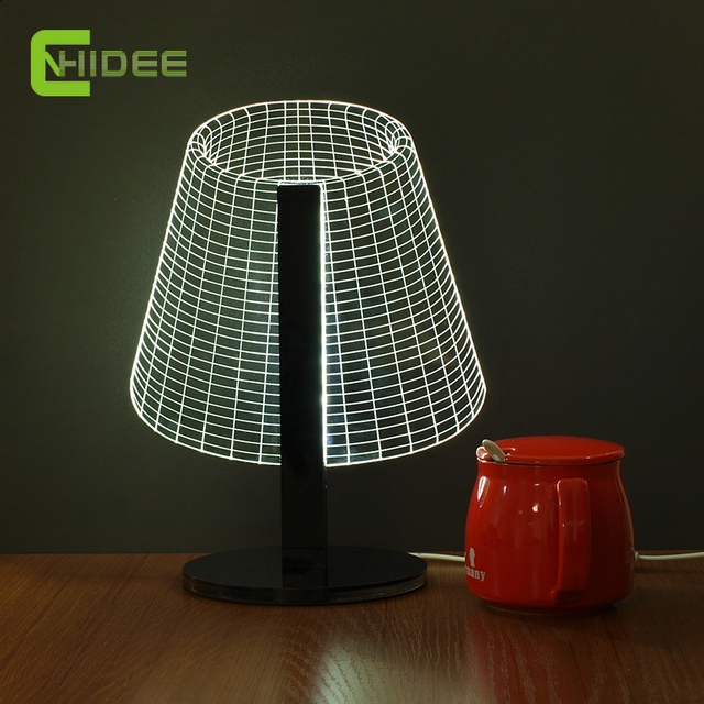 CNHIDEE USB DIY Night Light 3D Illusion Led Desk Table Lamp as Home Decor  Baby Children - CNHIDEE USB DIY Night Light 3D Illusion Led Desk Table Lamp As