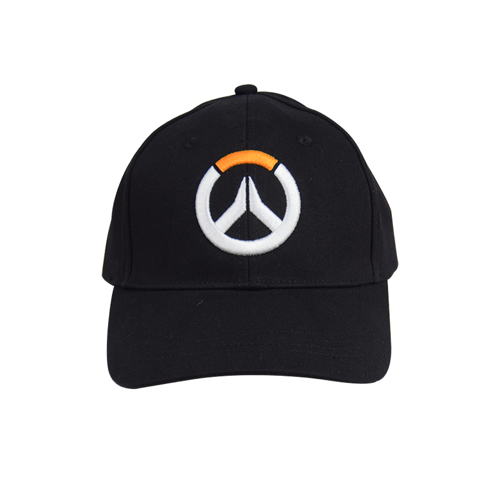 Overwatch Men's black Hat Baseball Cap Sunhat Hiphop hat