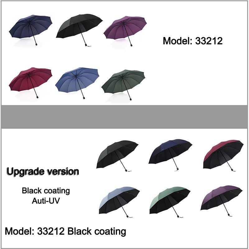 Paraguas grande de marca anti UV, Paraguas plegable a prueba de viento para hombre, Paraguas Hi-Q Corporation, Parasol femenino, Paraguas chinos