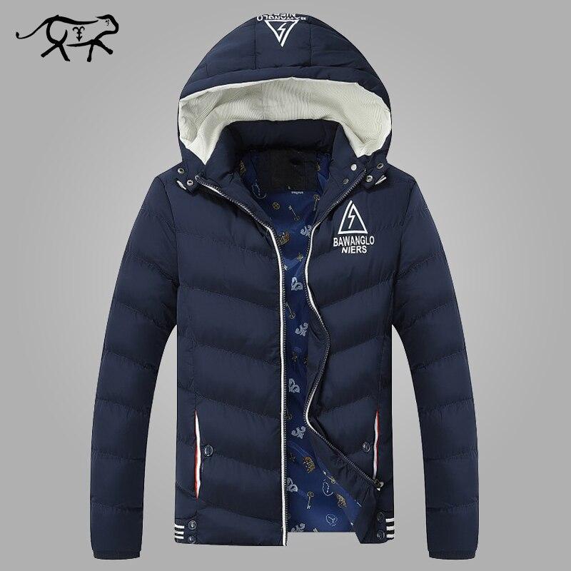 2018 Neue Ankunft Marke Kleidung Männer Jacken Und Mäntel Lässige Herren Parkas Verdicken Warme Mantel Für Männer Mit Kapuze Winter Jacke Männer