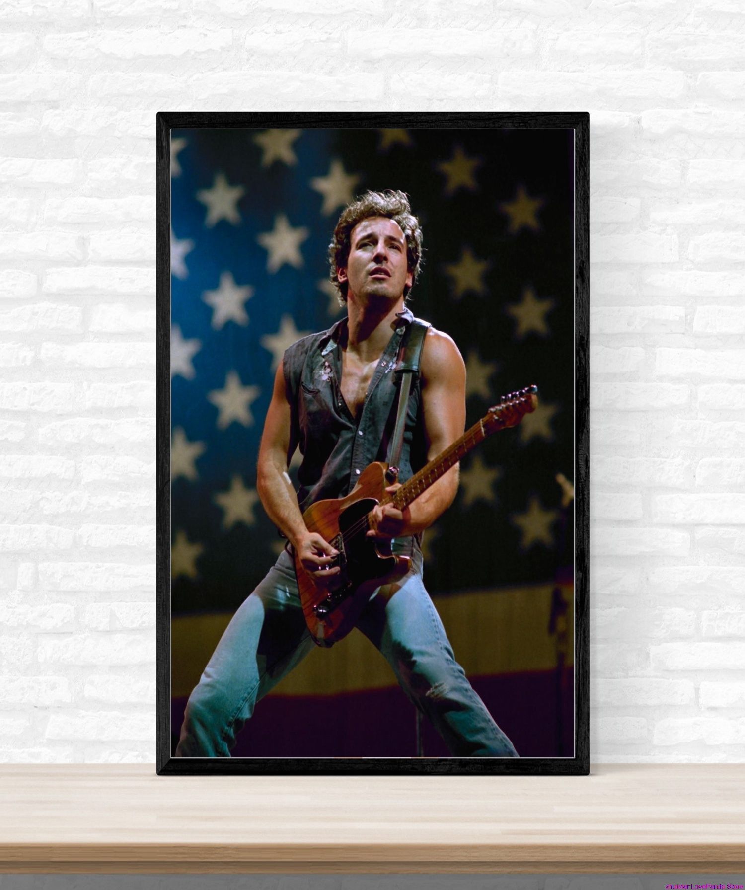 Bruce Springsteen Christmas.Us 3 77 49 Off Daimond Painting Volledig Bruce Springsteen Diamond Embroidery Icons Diamond Mosaic Sale Christmas Decorations For Home In Diamond
