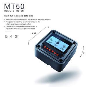 Image 5 - EPEVER 10A 20A 30A 40A MPPT שמש מטען Controller 12 V/24 V אוטומטי מרחוק מטר MT50 Fit עבור ליתיום סוללה שלילי קרקע LCD