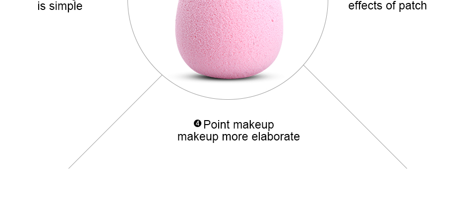 Cocute Makeup Foundation Sponge Makeup Tools 9