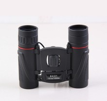 Free Shipping 2015 High quality 8×21 powerful pocket binocular Carrying binoculars hot sale