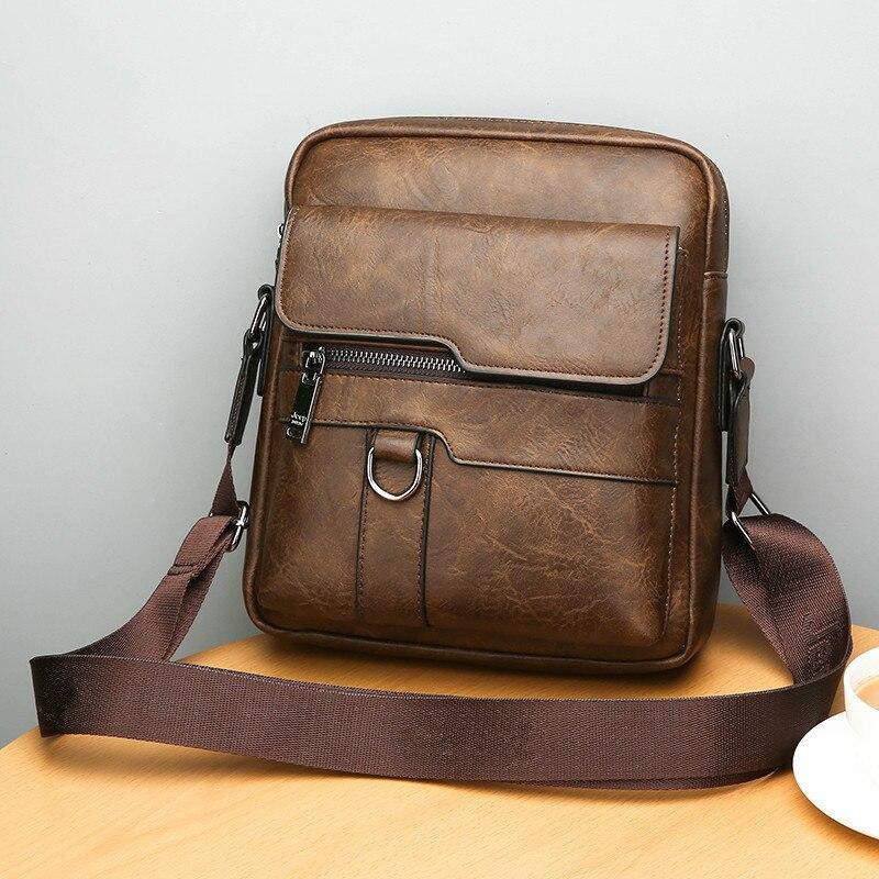 HTB1wUs6bwFY.1VjSZFnq6AFHXXaD New Men Briefcase Bags Business Leather Bag Shoulder Messenger Bags Work Handbag 14 Inch Laptop Bag Bolso Hombre Bolsa Masculina