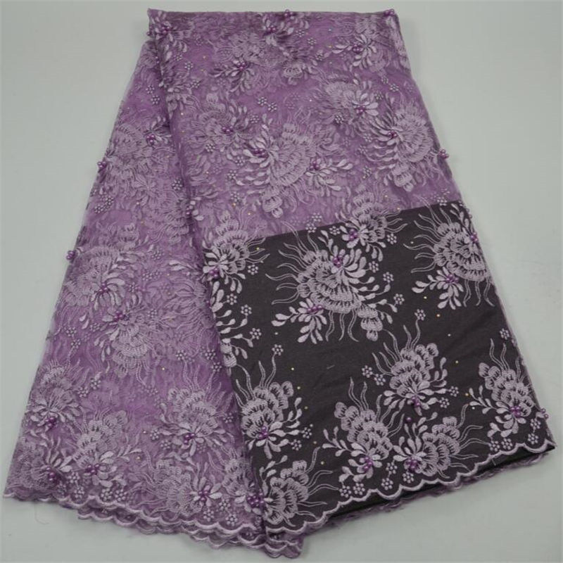 New popular lilac African lace fabric solf classical design high end Nigerian lace fabrics dress 10 colors available lace fabricNew popular lilac African lace fabric solf classical design high end Nigerian lace fabrics dress 10 colors available lace fabric