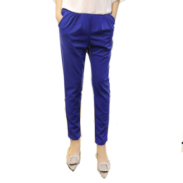 3 Color Casual Pants for Pregnant Women Clothes for Winter 2016 Overalls Maternity Pants Plus Thick Clothing M&B11903