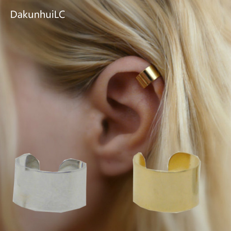New European And American Trade Fashion Simple Personality Pierced Ear Cuffs Ear Clip Earrings Jewelry Factory Direct