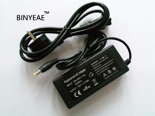 19V 3.16A 60w Universal AC Adapter Battery Charger Power Cord for SAMSUNG NP-R730 NP-R510 NP-R530